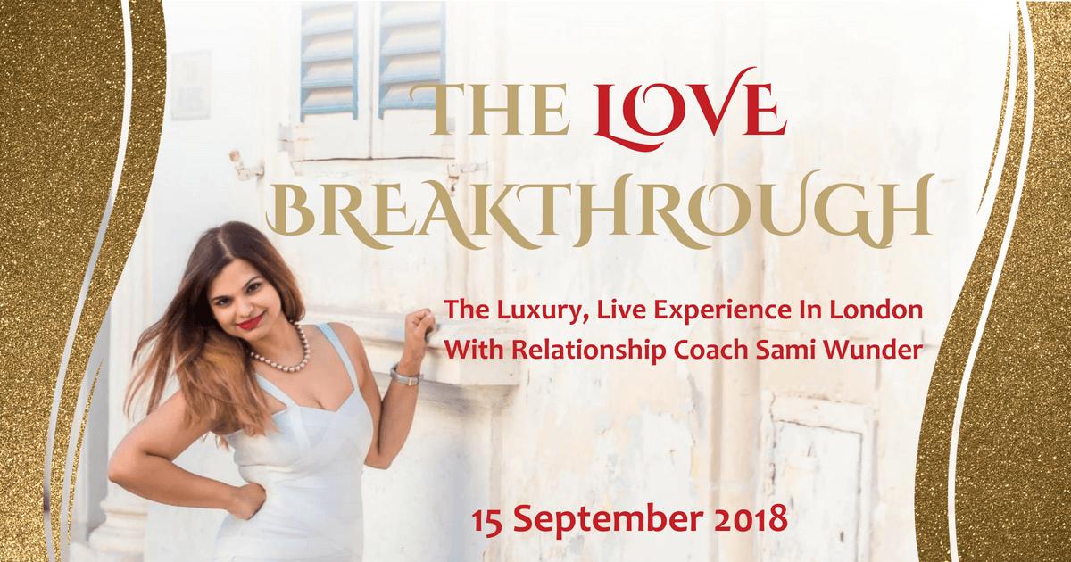 Sami Wunder Love Breakthrough Live Luxury Event