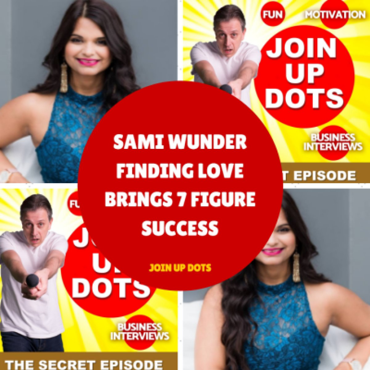 Join Up Dots podcast appearance.